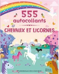 Chevaux et licornes : 555 autocollants