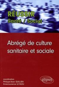 Abrege De Culture Sanitaire & Sociale
