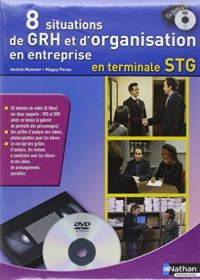 Coffret Gestion des ressources humaines et d'organisation en entreprise Tle STG