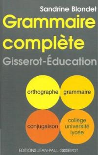 Grammaire complète