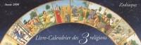 Livre-Calendrier des 3 religions : Année 2008