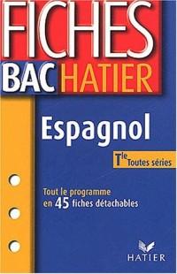 Espagnol 2003 : Terminale