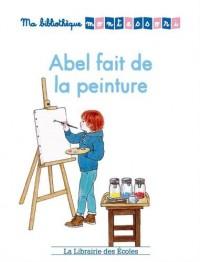Abel fait de la peinture