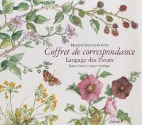 Le langage des fleurs : Coffret de correspondances