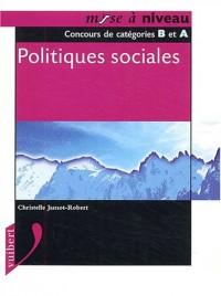 Politiques sociales : Concours de catégories B et A