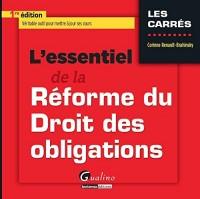 L'essentiel de la réforme du droit des obligations