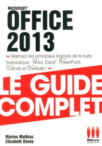 GUIDE COMPLET£OFFICE 2013