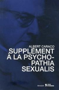Supplément à la psychopathia sexualis