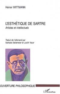 L'esthétique de Sartre : Artistes et intellectuels