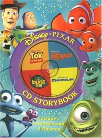 Disney-Pixar CD Storybook (Toy Story/Finding Nemo/A Bug's Life/ Monsters, Inc.)