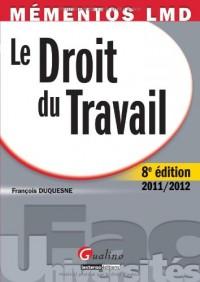 Mementos Lmd Droit du Travail 2011-2012,