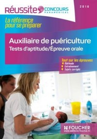 Concours auxiliaire de puériculture 2016, tests d'aptitude, épreuve orale : Réussite concours n°41