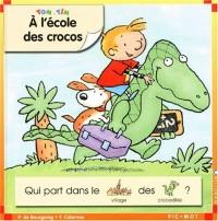 A l'école des crocos