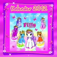 Filly Unicorn Kalender 2012 incl. Filly-Anhänger [Import allemand]