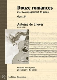 Douze Romances Chant & Guitare Opus 24