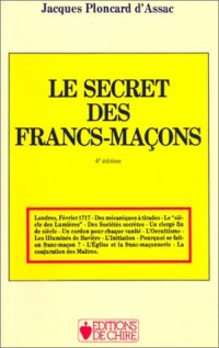 Le secret des Francs-maçons