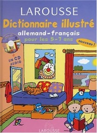 Dictionnaire Illustré : Allemand, CP-CE1, 5-7 ans (CD audio inclus)