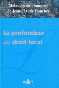 La profondeur du droit local : Mélanges en l'honneur de Jean-Claude Douence