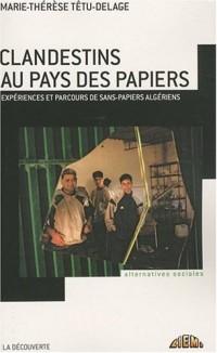 Clandestins au pays des papiers : Expériences et parcours de sans-papiers algériens