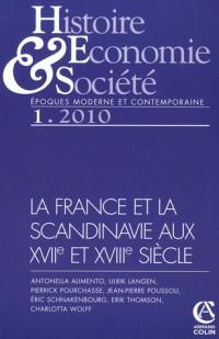 La France et la Scandinavie aux 17e et 18e siècle