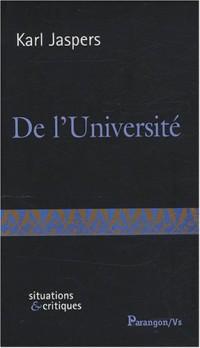 De l'Université