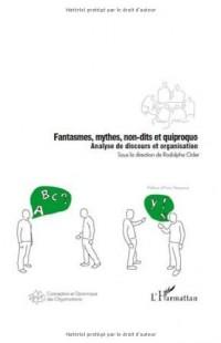 Fantasmes, mythes, non-dits et quiproquo : Analyse de discours et organisation