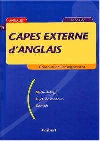 CAPES externe d'anglais : Méthodologie ; Sujet de concours ; Corrigés