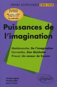Puissances de l'imagination malebranche Cervantès Proust : L'épreuve de français Conseils pratiques/Corrigés