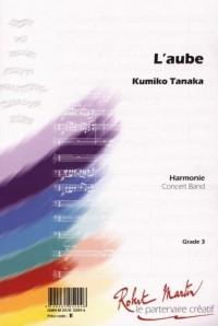 Partition classique ROBERT MARTIN TANAKA K. - L'AUBE Ensemble vent