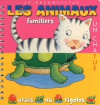 Animaux familiers - Je reconstitue (04)