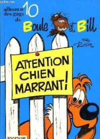 Album de Boule & Bill, Tome 10 : Attention chien marrant Ö '