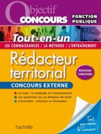 Objectif Concours - Redacteur Territorial - Concours Externe