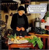 Le carnet de recettes d'une grand-mère savoyarde