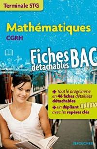 Mathématiques CGRH