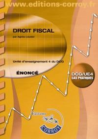 Droit Fiscal Enonce - Ue 4 du Dcg