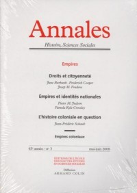 Annales. histoire, sciences sociales - vol. 63 (3-2008)