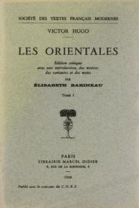 Les Orientales, 2 volumes