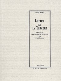 Lettre sur la terreur