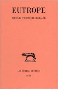 Abrégé d'histoire romaine