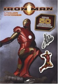 Iron Man : Autocollants repositionnables