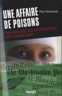 Une affaire de poisons