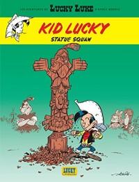 Aventures de Kid Lucky d'après Morris (Les) - tome 3 - Statue squaw