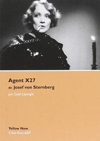 Agent x27 de Joseph von Sternberg