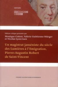 Deux Memoires de Pierre Augustin Robert de Saint Vincent