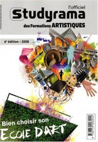L'officiel Studyrama des formations artistiques : Bien choisir son école d'art