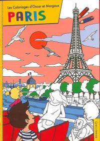 Les Voyages d'Oscar et Margaux - : Les coloriages : Paris