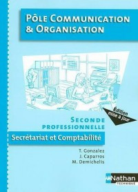 Pôle Communication et Organisation 2e professionnelle