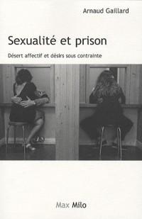 Sexualité et prison