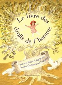 Le livre des droits de l'homme