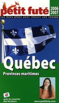 Le Petit Futé Québec Provinces maritimes